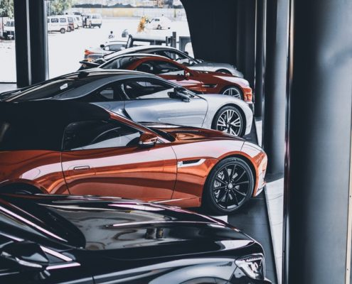 Luxury Car Rental Dealership