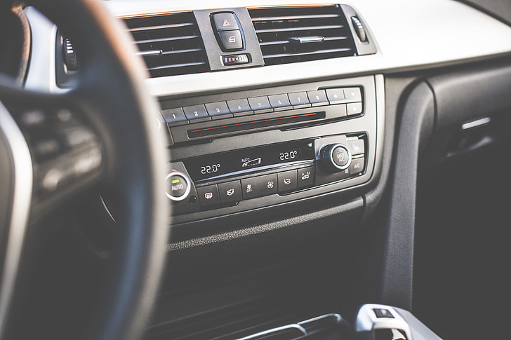 Car interior radio